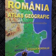 Romania Atlas Geografic - MARIUS LUNGU , ATLASUL ESTE APROAPE  NOU .