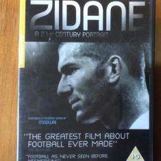 ZIDANE A 21 st CENTURY PORTRAIT - DVD ORIGINAL - Film documentare Altele, Engleza