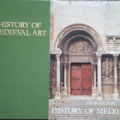 Georges Duby - History of Medieval Art - Carte Istoria artei