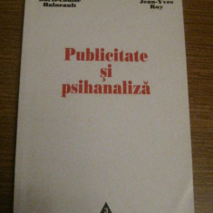 Doris-Louise Haineault - Publicitate Si Psihanaliza - Ed. Trei 2002, Alta editura
