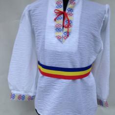 IE 7-9, 10-12, 13-14 ANI ( costum popular -national) COPII produs in Romania, Marime: One size, Culoare: Alb