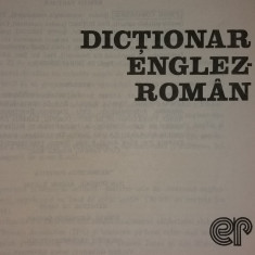 LEON LEVITCHI - DICTIONAR ENGLEZ-ROMAN