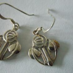 Cercei argint vintage -2281