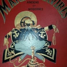 MARINS ET NAVIRES ANCIENS ET MODERNES - 200 DESSINS DANS LE TEXTE PAR SAHIB