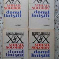 Donul Linistit Vol.1-4 (cotoare Putin Uzate, Interior Ca Nou) - Mihail Solohov, 407649 - Roman
