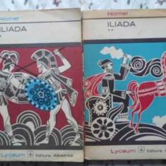 Iliada Vol.1-2 Traducere In Metrul Original De G. Murnu - Homer, 407717 - Roman