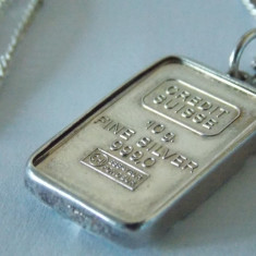 Lantisor si pandant argint -2282 - Lantisor argint