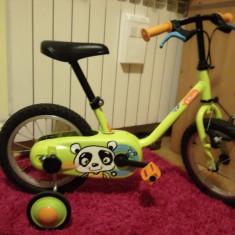 Bicicleta BTWIN Pamba 14 Inch 3-5 ani - Bicicleta copii, Numar viteze: 1