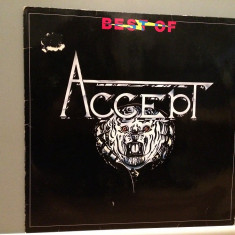 ACCEPT - BEST OF (1983/BRAIN rec/RFG) - Vinil/Analog/Impecabil, rca records