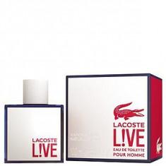 Lacoste Live Pour Homme EDT 100 ml pentru barbati - Parfum barbati Lacoste, Apa de toaleta