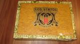 Cutie  trabucuri  LOS  STATOS  DE  LUXE - Habana  + 2  trabucuri