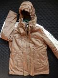 Geaca cu hanorac detasabil Bpc BonPrix Collection; marime 44, vezi dim.; ca noua