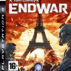 Tom Clancy's EndWar - End War  PS3 [Second hand], Strategie, Toate varstele, Single player