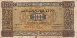 GRECIA 100 drahme 1941 VF!!!