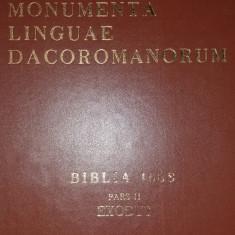 MONUMENTA LINGUAE DACOROMANORUM - BIBLIA 1688 - PARS II - EXODUS