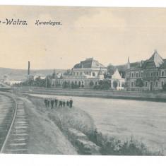 3725 - Bucovina, Suceava, VATRA DORNEI - old postcard, CENSOR - used - 1917 - Carte Postala Moldova 1904-1918, Circulata, Printata