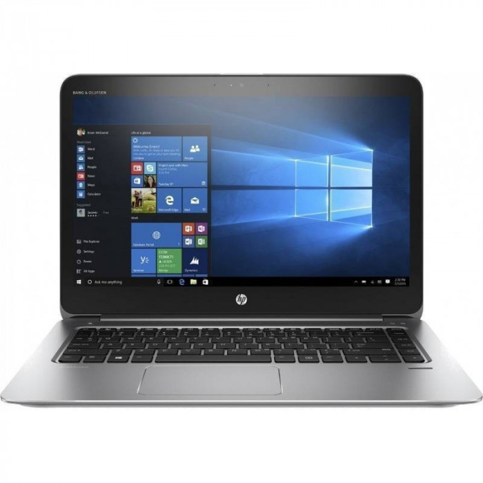 Laptop HP EliteBook Folio 1040 G3 14 inch Full HD Intel Core i7-6500U 8GB DDR4 512GB SSD TLC Windows 10 Pro downgrade la Windows 7 Pro foto mare