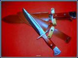 Cutit baioneta 34,5 cm inscriptionat AK-47 CCCP