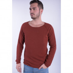 Pulover Selected Grover Crew Neck Henna