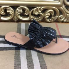 Papuci dama negri marime 37, 38+CADOU