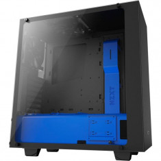 Carcasa NZXT S340 Elite Black Blue - Carcasa PC