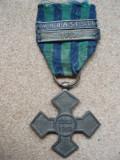 CRUCEA COMEMORATIVA A PRIMULUI RAZBOI 1916-1918 BARETA MARASESTI