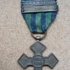 CRUCEA COMEMORATIVA A PRIMULUI RAZBOI 1916-1918 BARETA MARASESTI - Ordin