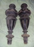 Picioare mobila sculptate/antice,deosebite inaltime 31 cm,T. GRATUIT