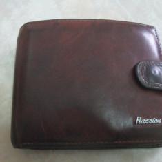 Portofel piele Hassion - Portofel Barbati
