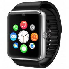 Ceas Smartwatch cu Telefon iUni GT08s Plus, BT, 1.54 inch, Argintiu + Spinner Cadou