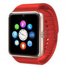 Ceas Smartwatch cu Telefon iUni GT08s Plus, BT, 1.54 inch, Rosu + Spinner Cadou