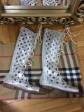 Sandale/cizme de vara argintii gladiator marime 39+CADOU