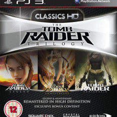The Tomb Raider Trilogy - Classics HD - PS3 [Second hand] - Jocuri PS3, Actiune, 12+, Single player