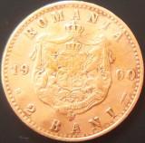 Moneda istorica 2 Bani - ROMANIA, anul 1900  *cod 342  ---  Carol I