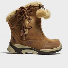 Cizme iarna Hi tec snowproof - Cizme copii Hi-Tec, Marime: 33, 34, Culoare: Roz, Unisex, Piele naturala