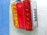 Stop remorca led smd cu 4 functi cu sticla colorata, Universal