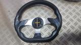 Volan sport negru-carbon tesit MOMO, Universal