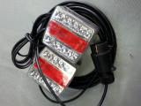 Stop remorca led smd cu cablu si priza- 4 functi, sticla CLARA, Universal