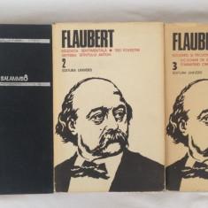 Flaubert/Opere, vol. I,II,III/lot 3 carti/1979-1984