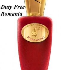Parfum Original Sospiro Rosso Afgano 100ml + CADOU, 75 ml, Apa de parfum
