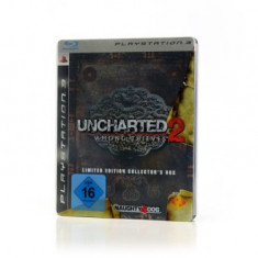 Uncharted 2 Among Thieves - Limited Edition Collector's Box - PS3 [Second hand] - Jocuri PS3, Actiune, 12+, Single player