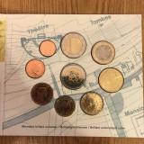 Set monede Euro Luxembourg calitate BU 2005, Europa