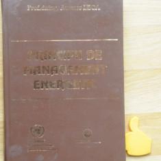 Principii de management energetic Aureliu Leca - Carti Energetica