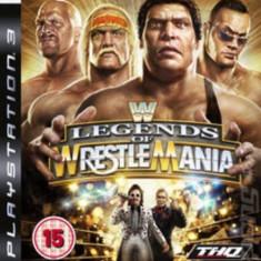 WWE Legends of WrestleMania - PS3 [Second hand] - Jocuri PS3, Sporturi, 12+, Multiplayer