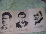Fise/poze/desene/tablou f vechi,originale personalitati istorice,de colectie
