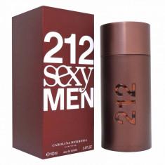 Parfum Original Carolina Herrera - 212 Sexy Men + CADOU - Parfum barbati Carolina Herrera, Apa de toaleta, 100 ml