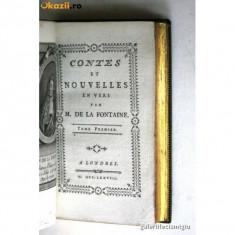 FABULE DE LA FONTAINE 4 VOLUME 1778