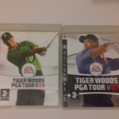 LOT 2 Jocuri  Tiger Woods PGA TOUR 07 si 09 -  PS3 [Second hand], Sporturi, 18+, Single player