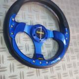 Volan sport albastru MOMO, Universal