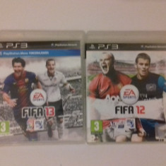 LOT 2 Jocuri FIFA 12 13 - PS3 [Second hand] - Jocuri PS3, Sporturi, 18+, Single player